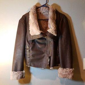 Jennifer Lopez Moto Jacket SZ L